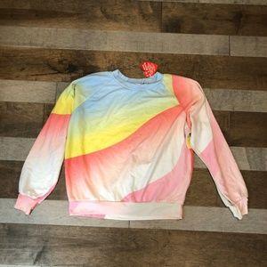 Wildfox  Galactic Junior Sweatshirt  NWT